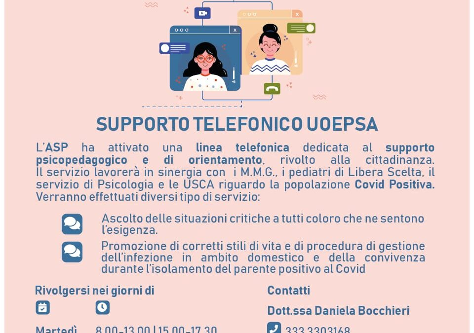 Supporto telefonico UOEPSA
